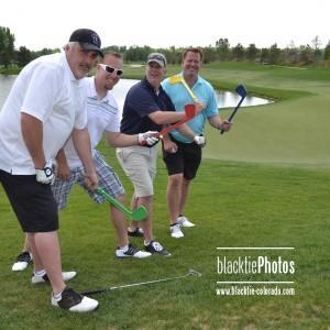 From left, Troy Motley, Joel Cornuet, Brian Grady and Glenn Johnson
