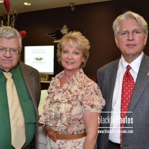 Greenwood Village Mayor Rakowsky, Kristina Davidson and Jay Davidson