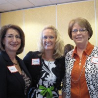 L to R: Victoria Gartelos, Sharon Vorce, Lila Kessinger