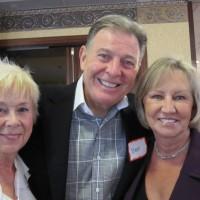 L to R: Sue & Steve Shaffer, Joan Mazak