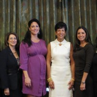 L to R: Victoria Gertelos, Marney Andes, Dr. Lynn Gangone, Elisa Fowler