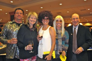 L to R: Phil & Michele Brethower, Stephanie Sims, Kristin McCandless, Jim Riley