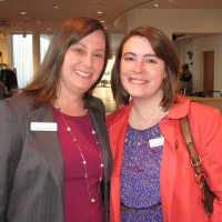 Karen Fox Elwell, left, with Katie Koivisto