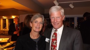 Jeannie Ritter and Denny O'Malley of the Denver Zoo board