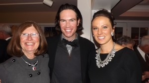 Mary McNicholas, her son Sean McNicholas and his wife Audra