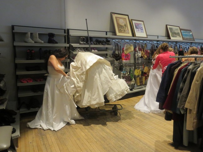 Nothing was sacred for Donate wedding dress goodwill