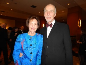 Dr Gary VanderArk and his wife Phyllis