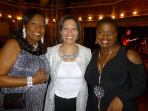 (l to r): HOPE Center President/CEO Geri Grimes, State Rep. Angela Williams and event emcee, CBS4's Gloria Neal