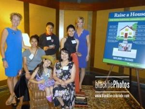 CEO Heather Lafferty, the Angel Meza family and Cheryl Preheim