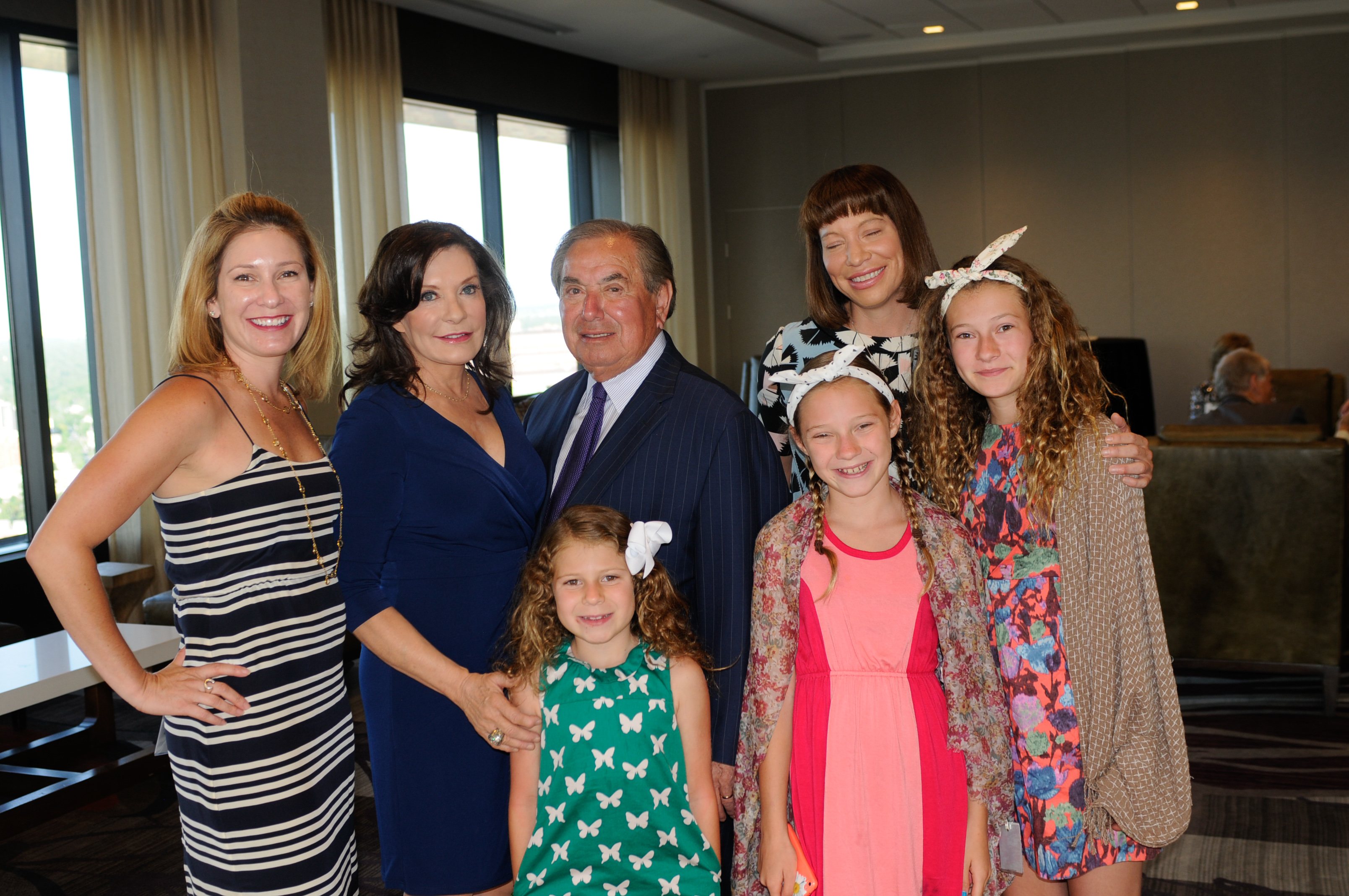 The Alvarado family: Jennifer Alvarado Geller, left ...