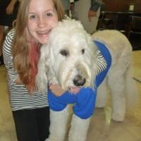 Emily Bauer with Yeti