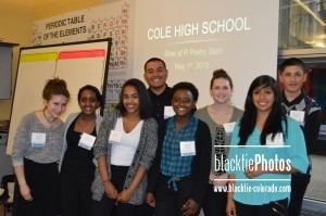 Cole High School poetry slam team