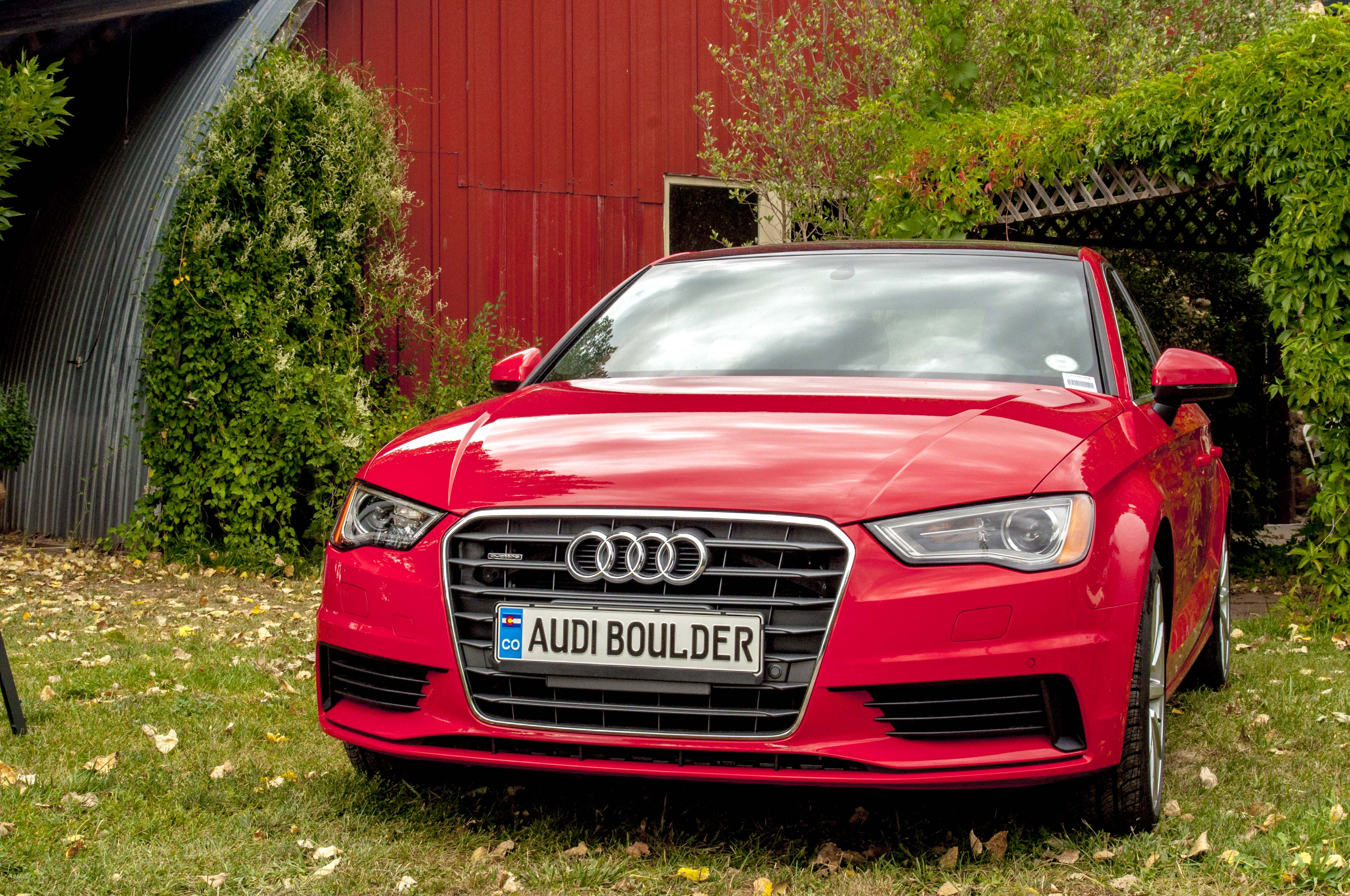 The A3 Sports Car Provided By Audi Of Boulder