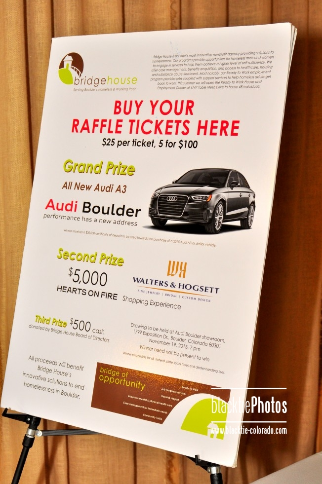 Audi Boulder Provided An A Sports Car For Raffle - Audi boulder