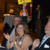 Another high bid at the live auction