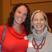 Erica Porter (left) and former Colorado First Lady Frances Owens