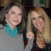 Committtee member and sponsor Linda Christie-Horn (left), with Keri Christiansen
