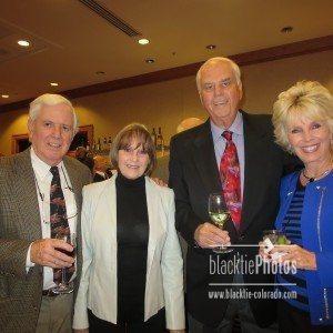 L to R: Jack & Leslie Ferguson, Richard & Lynne Cundy