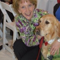 Darby Kelly with Prescription Pet Program participant, Cormac