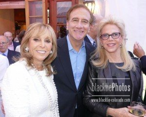 Iris Smith, left, Dr Michael Salem and Sunny Brownstein