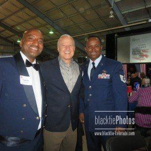 Capt. Tewoldebirhan Keresemo, Congressman Mike Coffman, Tech. Sgt. Getahun Mhiretre