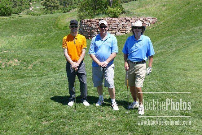 Ryan Hofscheier, left, George Hayward, Barry Patterson