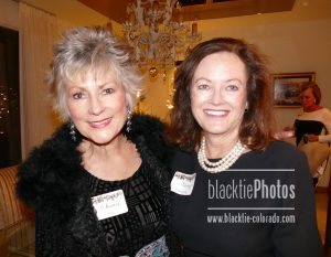 Kickoff chairs Susan Stiff, left, and Nancy Hemming
