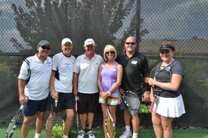 """Tennis with the Stars"" scores another win at 6th annual tourney"