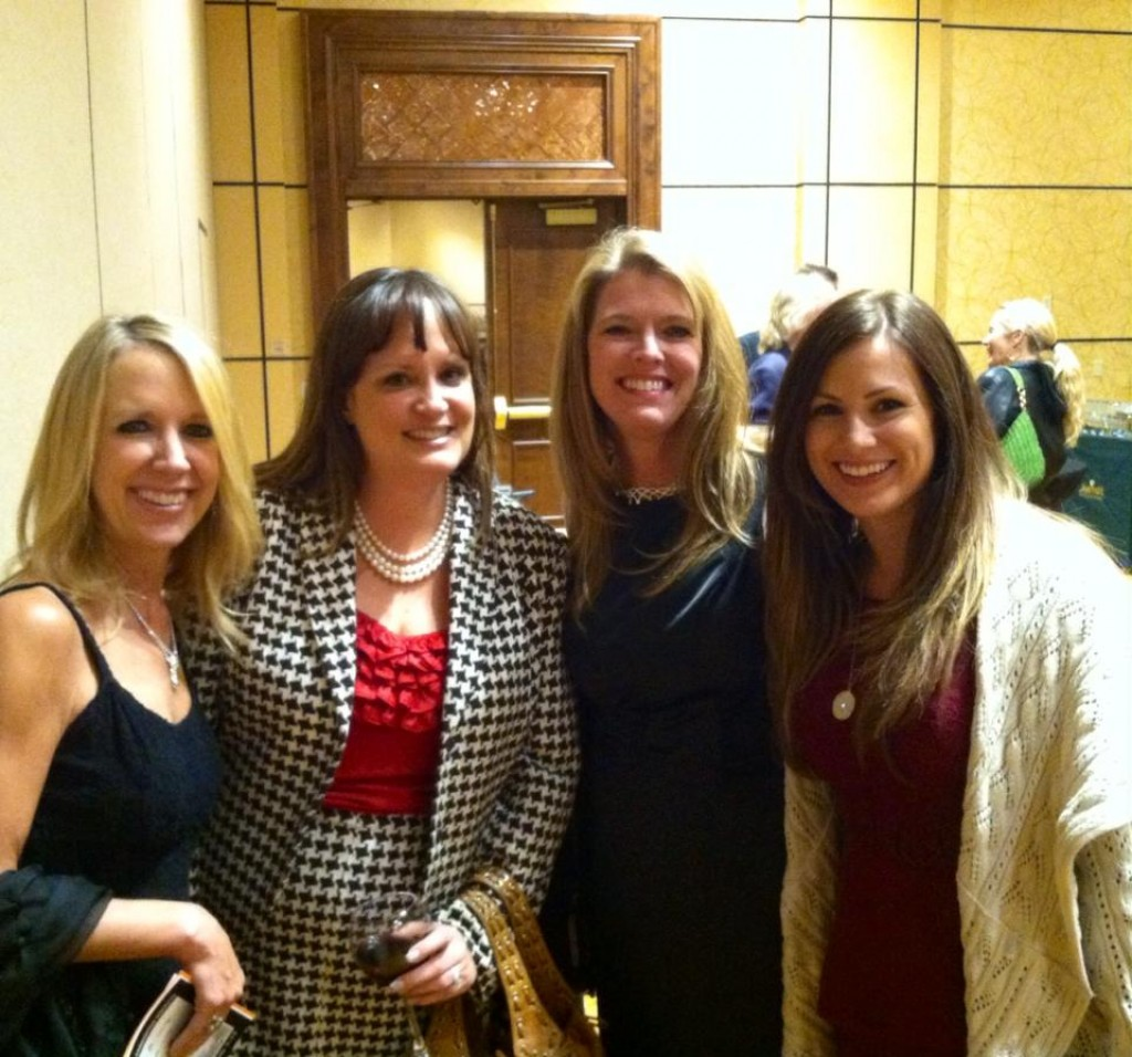 Keri Christiansen, Kimi Brown, Jennifer Daurio at the Invisible Disabilities Association event