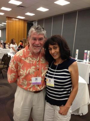 Ken Elliott and a fan of his work