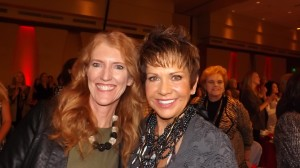 Tracy Ulmer and Gayle Novak at the Brass Ring Luncheon for Childhood Diabetes