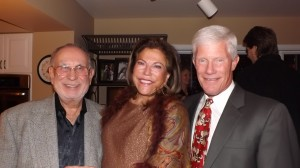 Meyer and Gerri Salzman, left, with Denny O'Malley