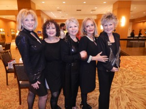 Vickie Dow, Nancy Koontz, Lorraine Salazar, Jan Hammond and Susan Stiff at the Fine Arts Foundation Jubilee