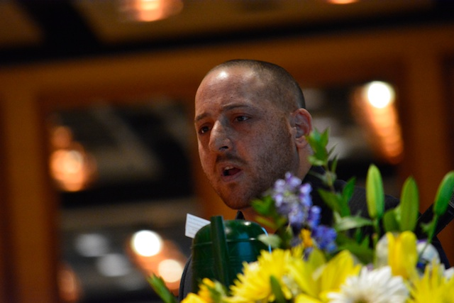 Kevin Hines Speaks About His Experiences As A Survivor