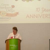 O Rita Cammack at podium_6640