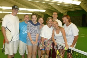 Guests love-love Stout Street Tennis Social