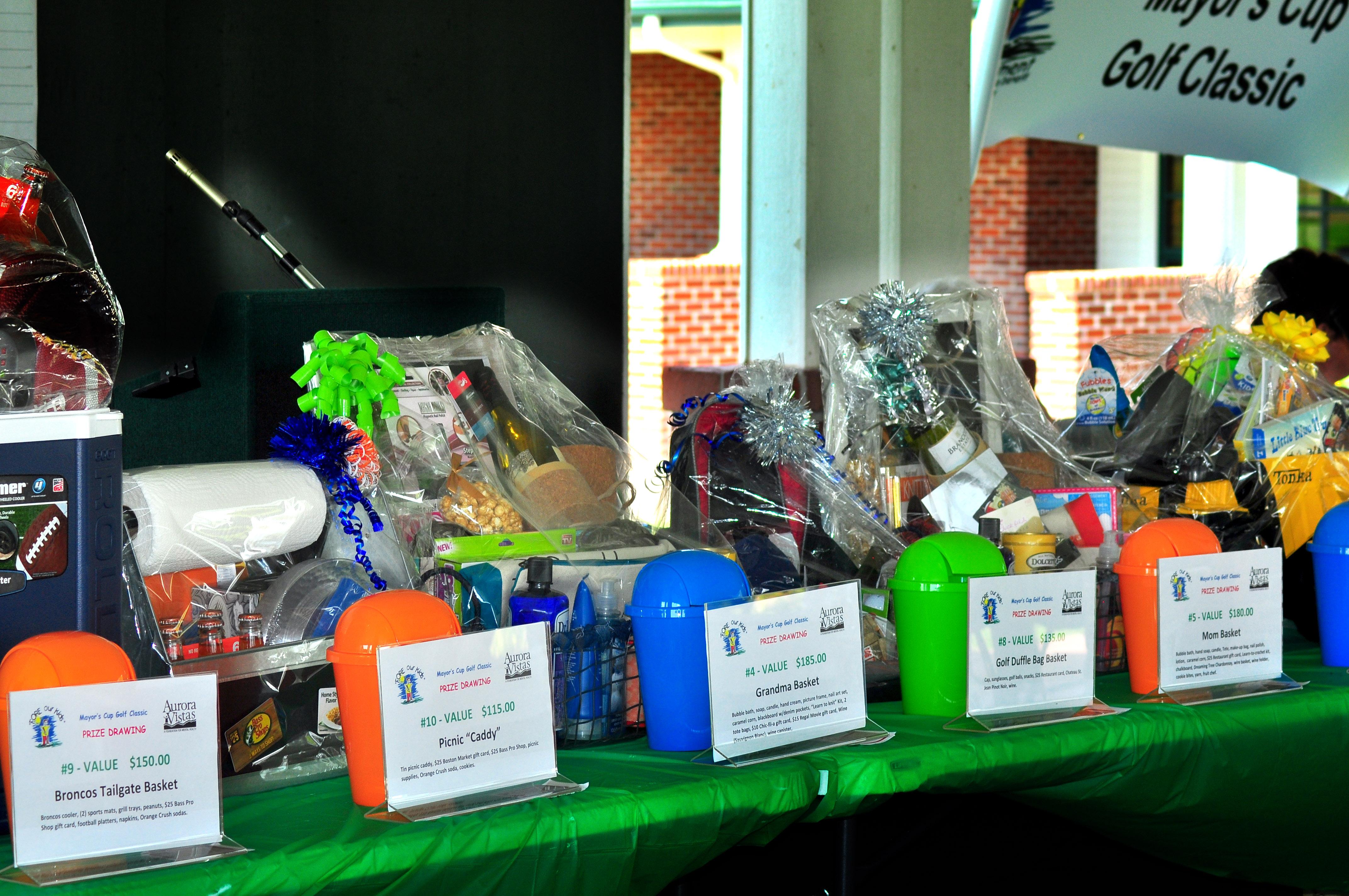 Generous sponsors provided gift bags