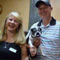 Meadow Creek co-owners Debra Kahn Freeman and Adam Kahn, with Billy Bob