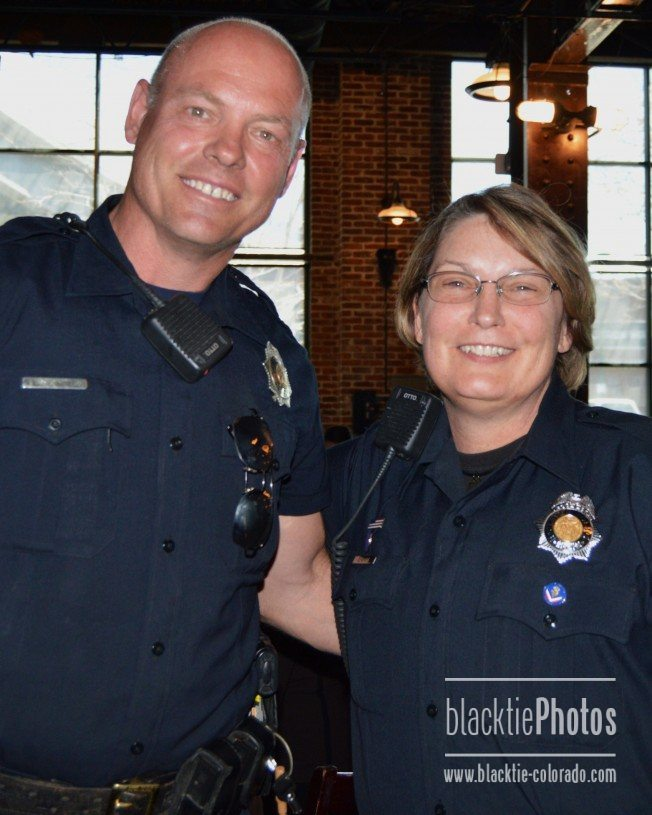 Denver Police Officers Vince Young And Susan Gann
