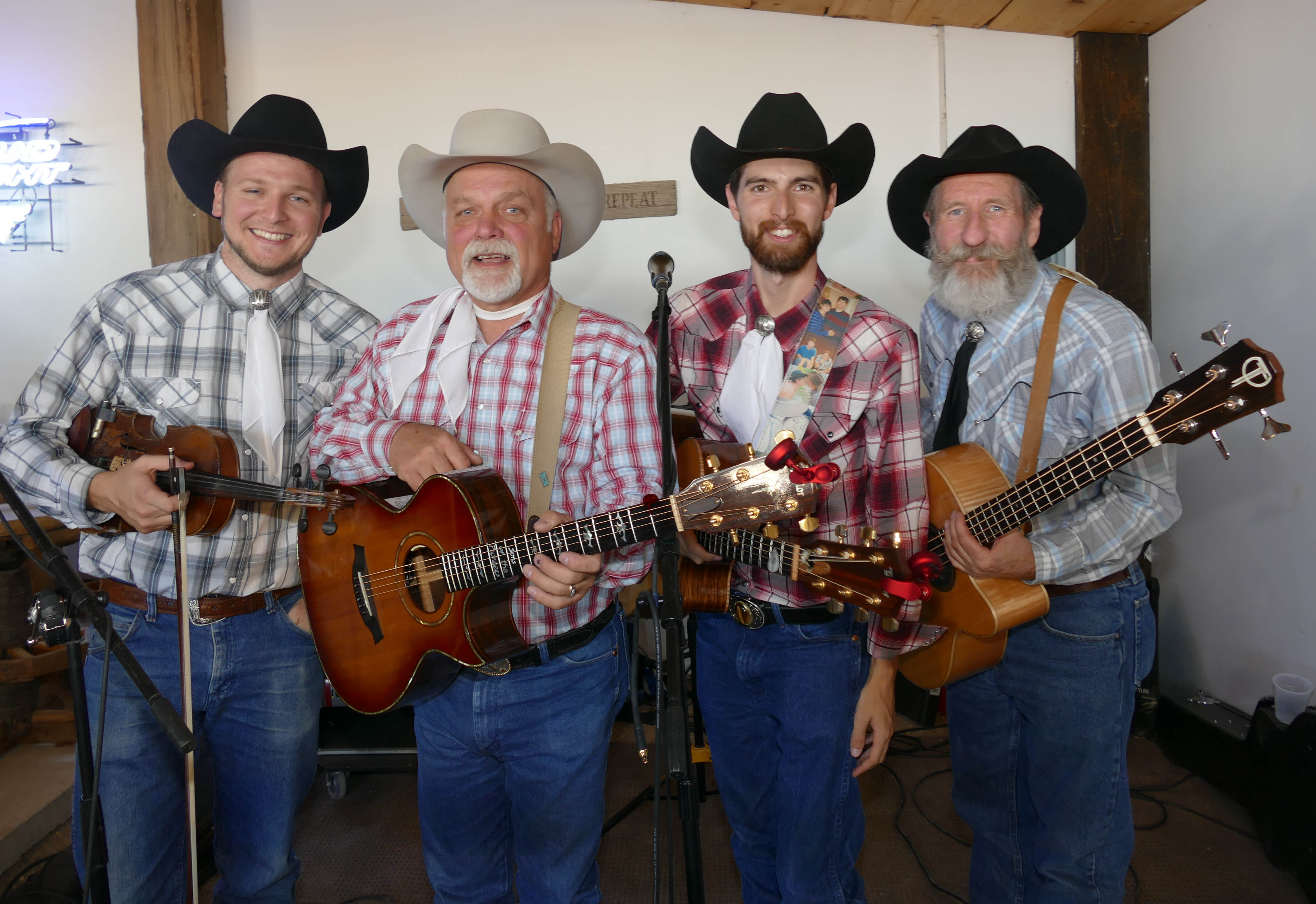 Country Band Flying W Wranglers Entertained At The Rodeo